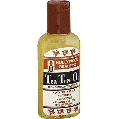 Hollywood Beauty Tea Tree Oil Skin and Scalp Treatment - 2 fl oz