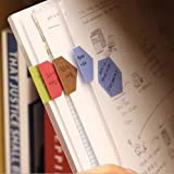 2枚/ロットかわいい紙ページフラグ付箋タブプランナーステッカーメモ帳メモパッド文房具ブックマークレインボー