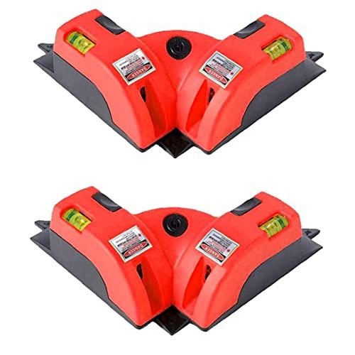 Nivel láser vertical Marcador láser de línea con dos ventosas para la Inspección y Posicionamiento