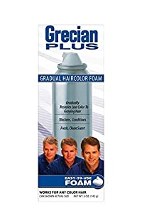 GRECIAN PLUS Haircolor Foam 5 oz