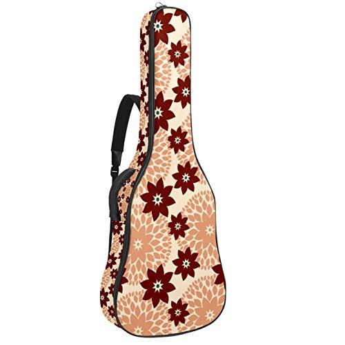 Bolsas de guitarra y casos, Guitarra Clásica Bolsa de concierto de Guitarra Clásica Bolsa de concierto,Vector Flores