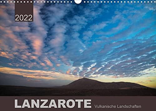 LANZAROTE Vulkanische Landschaften (Wandkalender 2022 DIN A3 quer)