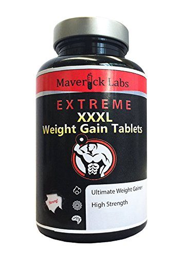 Anabolic Weight Gainer (XXXL) Capsules - Ultimate Formula for More Muscle,...