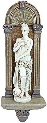 Design Toscano AH21981 La nymphe des eaux de la Garonne Sculpture Bronze 7,5 x 14 x 42 cm