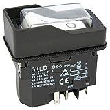 Geräte/Einbauschalter für verschiedene Werkzeugmaschinen 230V mit U-Auslöser und Spulenkontakt - Baugleich KEDU KJD16