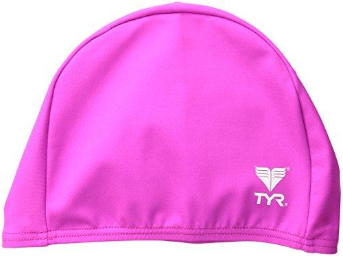 TYR Solid Bonnet de Bain Lycra Adulte Unisexe, Pink, Taille Unique