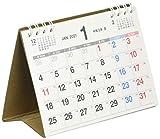 能率 NOLTY 2021年 カレンダー 卓上 72 A7 C258