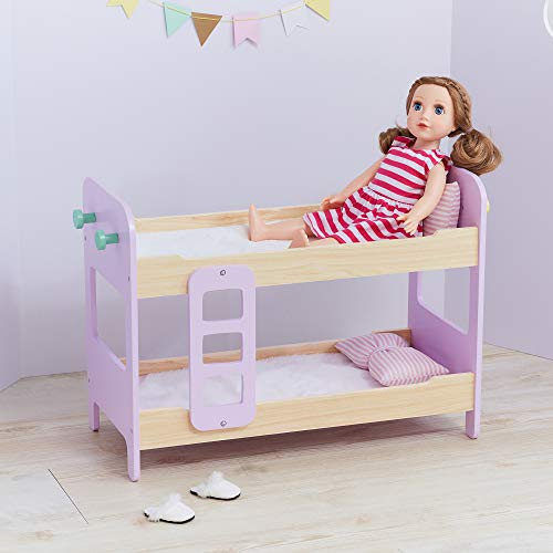 Olivia's Little World TD-12867A pop stapelbed, roze