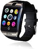 Smart Watch Reloj Inteligente Mujer Hombre Smartwatch Pantalla táctil con Ranura para Tarjeta SIM Cámara Podómetro Moviles Pulsera de Actividad para Android iOS
