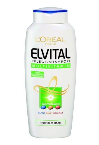 L'Oréal Paris Elvital Pflege-Shampoo 250ml Multivitamin, 6er Pack, 1500ml