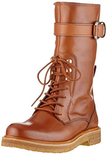 Marc O'Polo Damen 90815376001100 Hohe Stiefel, Braun (Cognac 720), 36 EU