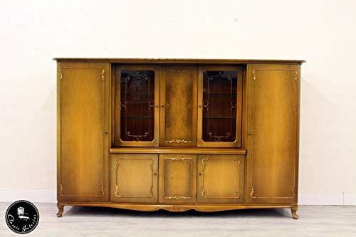 Classic Interior Vitrine Chippendale Bücherschrank Schrank Bar Antik Büro Wäsche