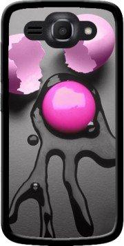 MOBILINNOV Huawei Ascend Y540 Oeuf Rose Silikon Hülle Handyhülle Schutzhülle - Zubehor Etui Smartphone Huawei Ascend Y540 Accessoires