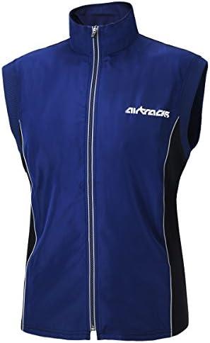 Airtracks Air Tech Veste de cyclisme thermique pour homme et femme