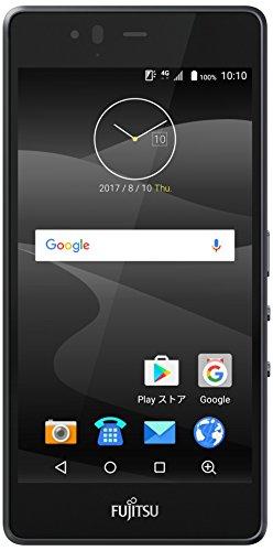 富士通 SIMフリースマートフォン arrows M04(ブラック)【日本正規代理店品】 FARM06301