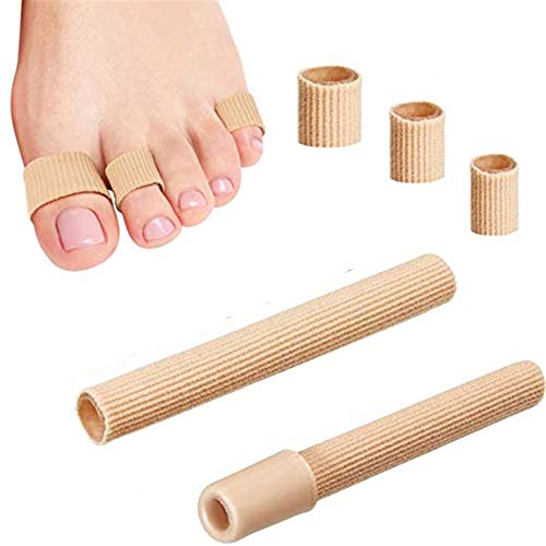 2 Stück 2 * 15cm Soft Exklusiv Silikon Zehenschutz Schlauchbandage Druckschutz Zehen Schutz