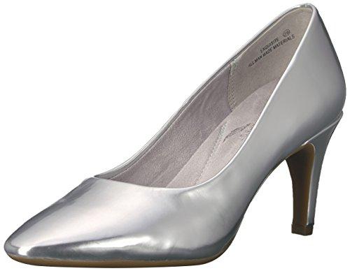Aerosoles Zapatos de tacón para mujer exquisito, Plateado (Plateado, metálico ), 37 EU