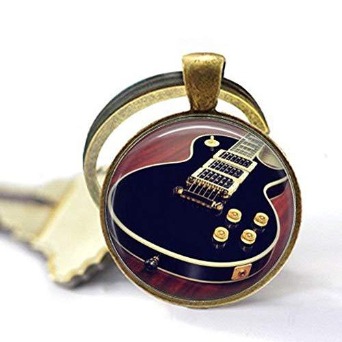 Gitarrenanhänger, Bassgitarre, E-Gitarre, Akustikgitarre, Geschenk für einen Gitarrenspieler, Geschenk-Schlüsselanhänger