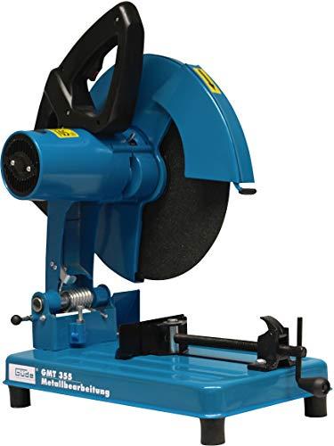Güde 40534 GMT 355 Metalltrennsäge (2200W, 355mm Scheibe Durchmesser, bis 100mm Schnittleistung)