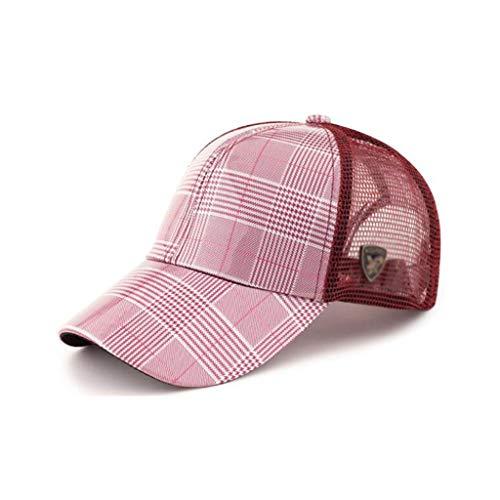 QXJPZ Sombreros de Verano para Hombres y Mujeres, sección Delgada, Gorra de béisbol de Secado rápido al Aire Libre, versión Coreana Femenina del Gorro de Sol Transpirable Tide, Gorra Protectora Solar