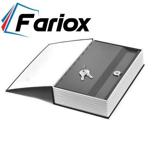 Fariox Locker Jewellery Home Safe Dictionary Hidden Secret Book Safe Vault 2 Keys Jewelry Money Cash Box for Office Home (24 x 15.5 x 5.5 cm, Assorted Colour)