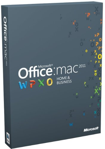 Office für Mac 2011 Home & Business (Multipack / englisch)