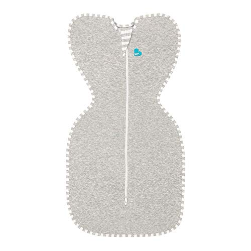 Love To Dream Swaddle UP, Gray, Small, 8-13 lbs., Dramatically Better Sleep,...