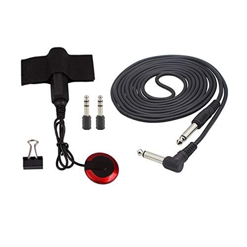 Artibetter 5 pcs Accesorios Guitarra convertidores de cables eléctricos recogida de clip