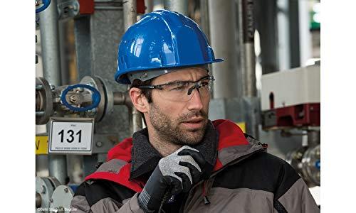 """Bollé Safety SILPPSI """"Silium +"""" Schwarze Schutzbrille, Klare Objektive, Einheitsgröße"""