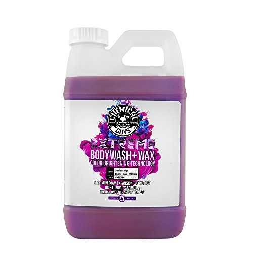 Chemical Guys CWS20764 Extreme Bodywash & Wax Car Wash Soap with Color Brightening Technology,...