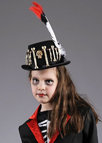 Enfants Halloween sorcier vaudou haut-de-forme