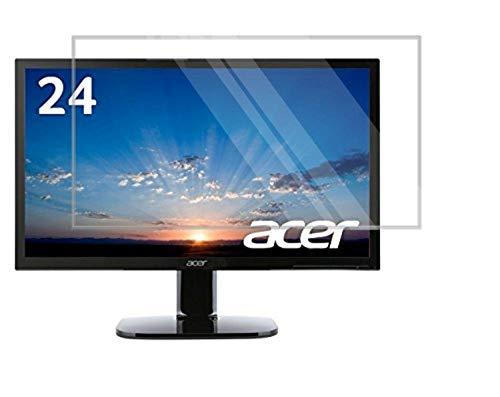 和湘堂 WASHODO Acer モニター ディスプレイ KA240Hbmid× 24インチ対応液晶画面保護フィルム 目の保護 指紋防止 反射防ぎ 電磁波カット