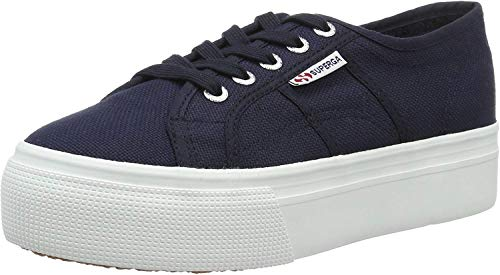 Superga 2790ACOTW Linea UP And Down, Scarpe Sportive Donna, Blu (Navy-White), 39 EU