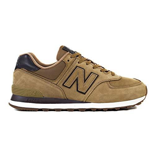 NEW BALANCE ML574 - NB/Zap. Lifestyle Q319 T-2 Hombre Color: MRON Talla: 47