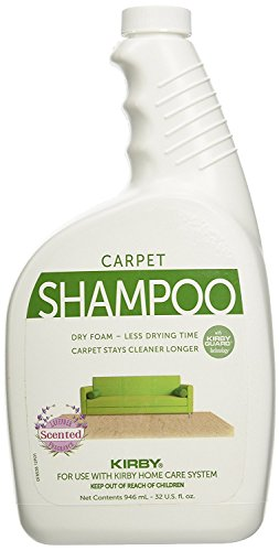 Kirby Carpet Shampoo Allergen Control Formula