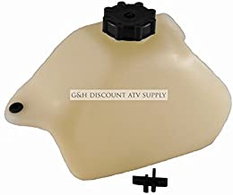 Wide Open Plastic Gas Fuel Tank for the 1986-1987 Honda TRX 70 Fourtrax