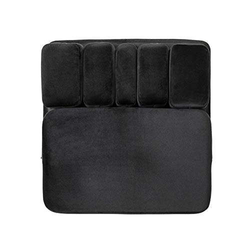 Cospac Flexi-Mat Customizable Seat Cushion - Designed for Car, Office Chair, WheelchairSeat, Gaming Chair, Work Chair-Back Pain, Tailbone, CoccyxRelief