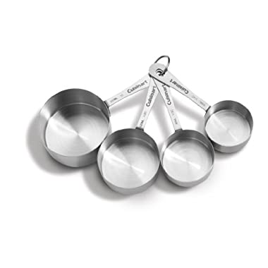 Cuisinart CTG-00-SMC Stainless Steel Measuring Cups, Set of 4