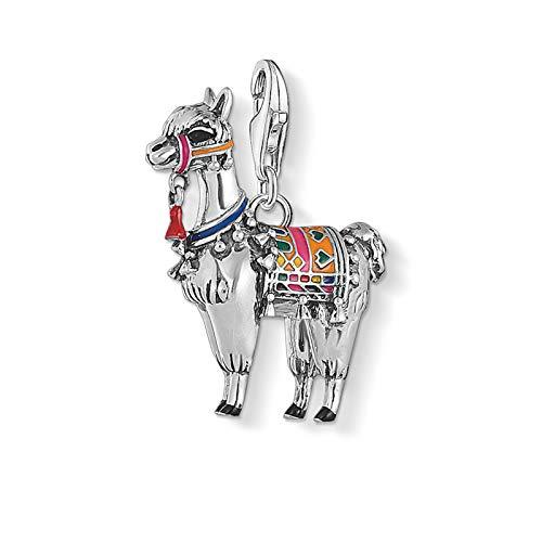 cdyle Alpaca Llama Charms Pendant 925 Sterling Silver Pendants Fashion Jewelry for Europe Jewelry Making DIY & Women & Men