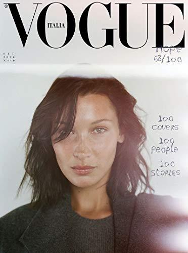 Vogue italia Magazine September 2020 - 100 Cover stars - 100 Unique Stories to tell - ( Random cover )