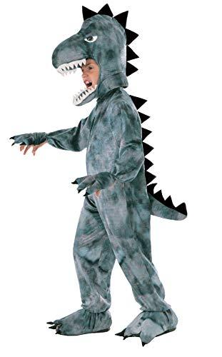 Forum Novelties Kids Dinosaur Costume, Dark Gray, Small