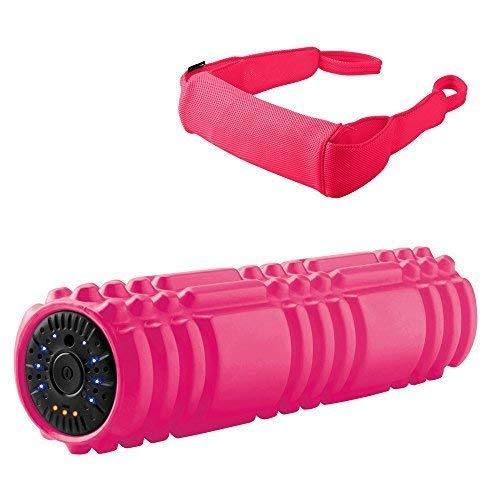 ドクターエア 3Dマッサージロール MR-001(ピンク) | マッサージローラー マッサージボール 高速振動で筋肉を芯からほぐす