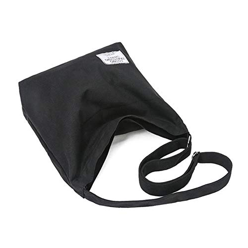 SYART 2020 Leinwand Umhängetaschen Frauen Mädchen Totes Große Kapazität Casual Messenger Handtaschen Umhängetasche für Frauen Shopping Handtaschen, Grau
