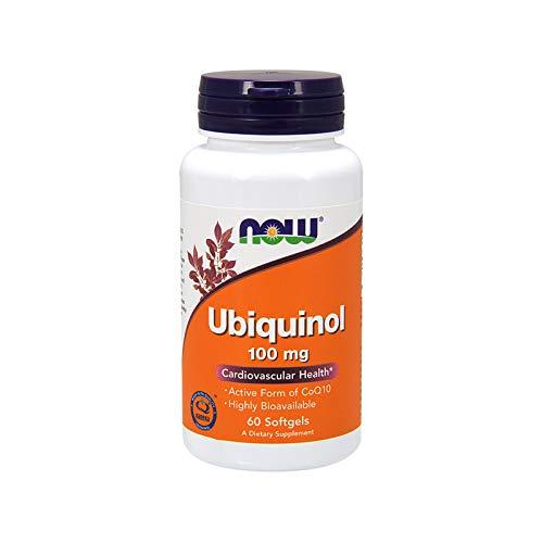 NOW 100Mg Ubiquinolo Attivo Coq10 60 Softgels - 60 g