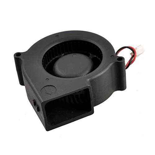 SODIAL(R) 75 x 30mm DC 12V 0.36A 2Pin Computer Luefter PC-Geblaese