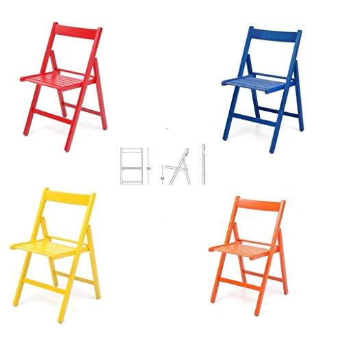 classifica sedia in legno pieghevole