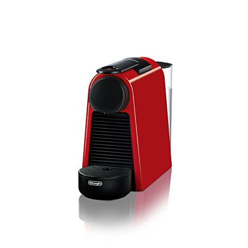 Nespresso Essenza Mini Original Espresso Machine by De'Longhi, Red