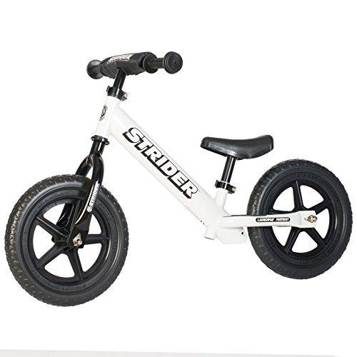Strider - 12 Sport Balance Bike, von 18 Monaten bis zu 5 Jahren, Weiß