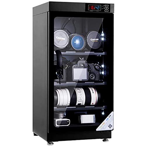 YANG CNC-Luftentfeuchter-Trockenschrank für Kameraobjektive,30L / 50L / 80L,Dry Cabinet automatische Entfeuchtung, geräuschloser Betrieb, eingebaute LED-Beleuchtung