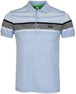 5b2ea3202 Hugo Boss Mens Paule 5 Polo Shirt Slim Fit Soft Touch Cotton 50315560